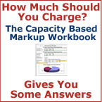 The Capacity Based Markup Worksheet