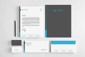 The Corporate Identity Bundle by artisanHR at TheCreativeMarket.com